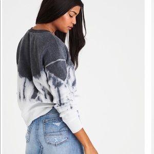 American Eagle Inside & Out Tie-Dye Sweatshirt XL